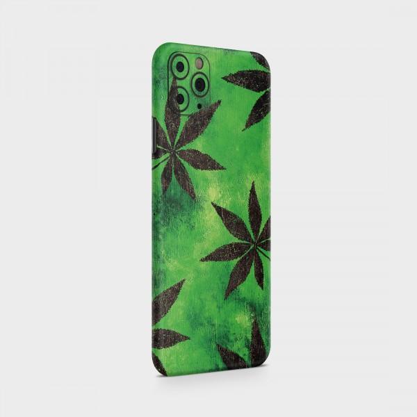 "GREEN MNKY Backcover Skin Smartphone 7"" (Struktur Serie) ""Green Amsti"" [3 Stück]"