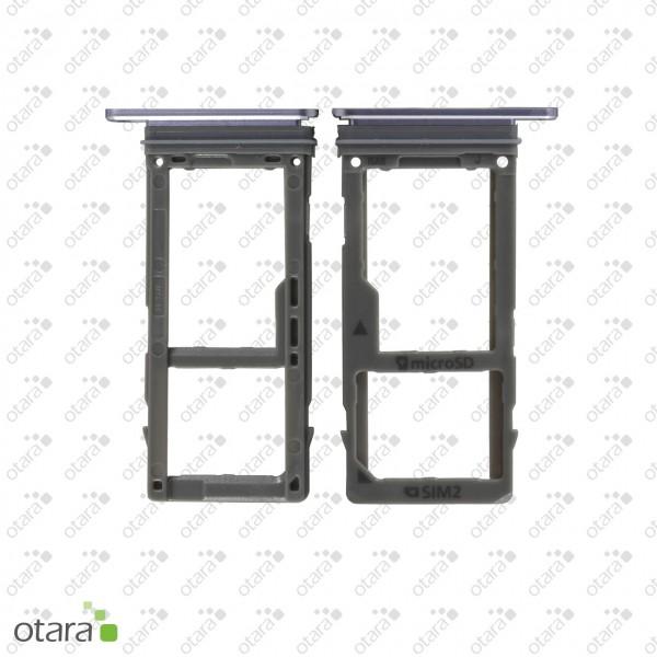 Samsung Galaxy A8 2018 (A530F) SIM / SD Tray, orchid grey, Serviceware