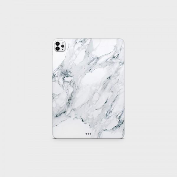 """GREEN MNKY Backcover Skin Tablet 11"""" (Struktur Serie) """"White Marble"""" [3 Stück]"""