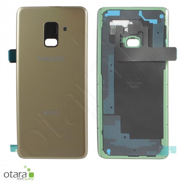 Akkudeckel Samsung Galaxy A8 2018 Duos (A530F/DS), gold, Serviceware