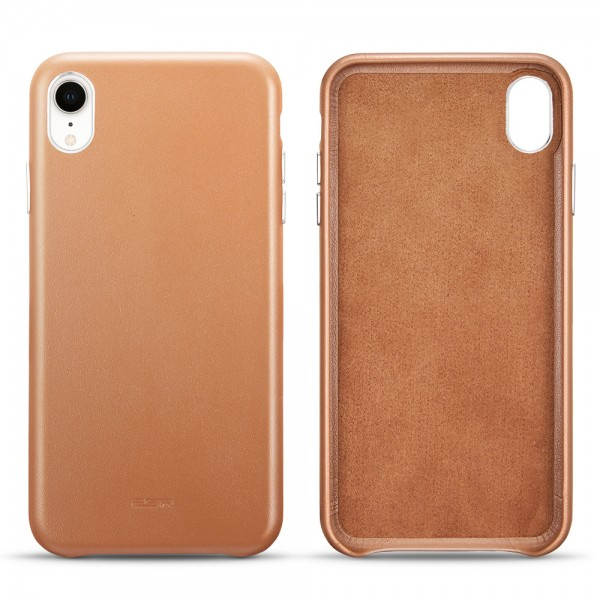 ESR Case iPhone XR Oxford Brown (echtes Oxford Leder)