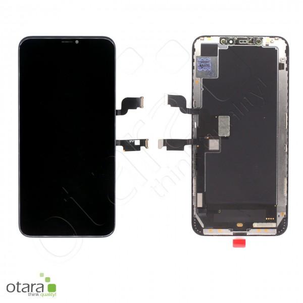 Displayeinheit geeignet für iPhone XS Max (pulled), schwarz