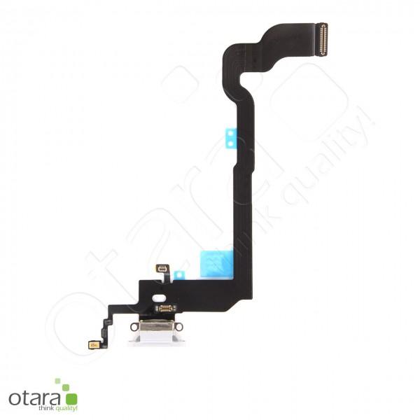 Lade Dock Connector Flex geeignet für iPhone X (Ori/pulled Qualität), weiß