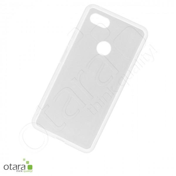 Silikoncase/Schutzhülle für Google Pixel 3 XL , transparent