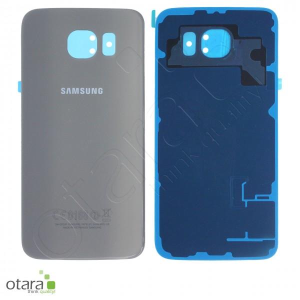 Akkudeckel Samsung Galaxy S6 (G920F), aluminium gold, Serviceware