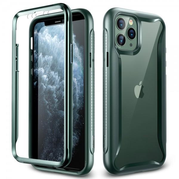 ESR Case iPhone 11 Pro Hybrid Armor 360 Pine Green Frame