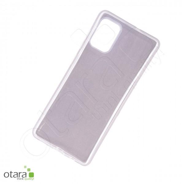 Silikoncase/Schutzhülle für Samsung Galaxy A71, transparent