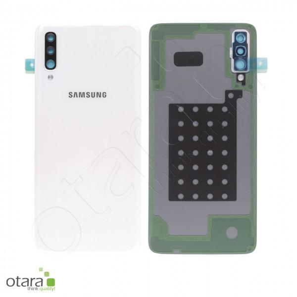 Akkudeckel Samsung Galaxy A70 (A705F), white, Serviceware