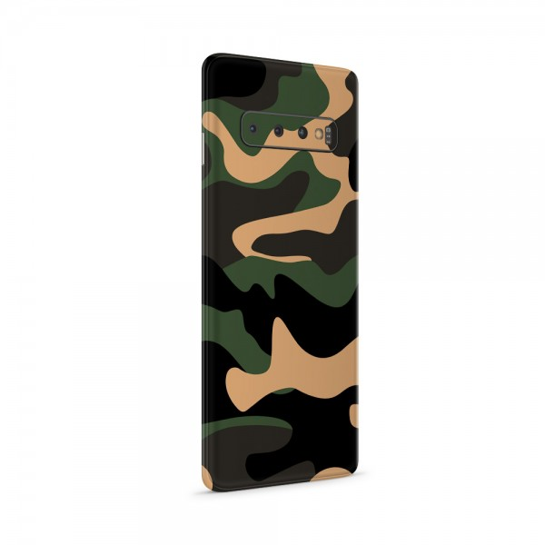 "GREEN MNKY Backcoverfolie Backfilm Design ""Camouflage Safari"" [3er Pack]"