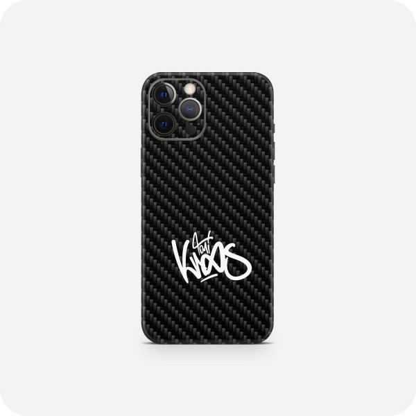 "GREEN MNKY Backcover Skin Smartphone 7"" (Toni Kroos Kollektion) ""Black Carbon Signature"" [3 Stück]"