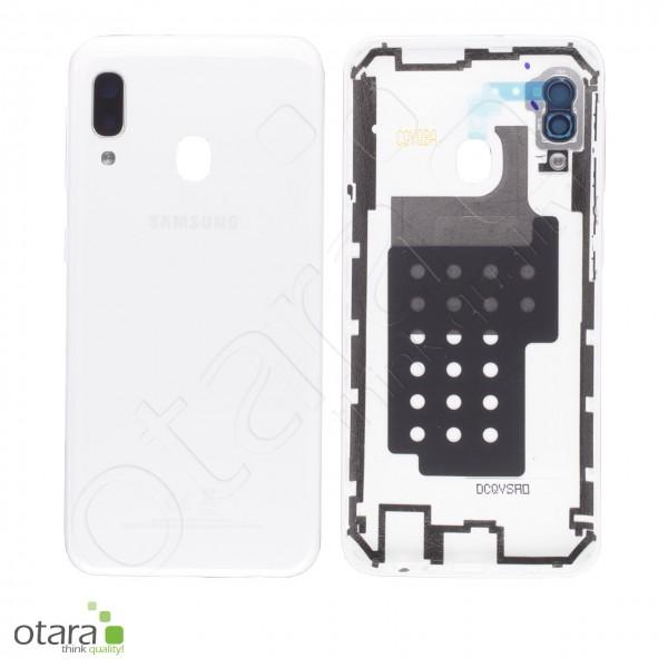 Akkudeckel Samsung Galaxy A20E (A202F), white, Serviceware