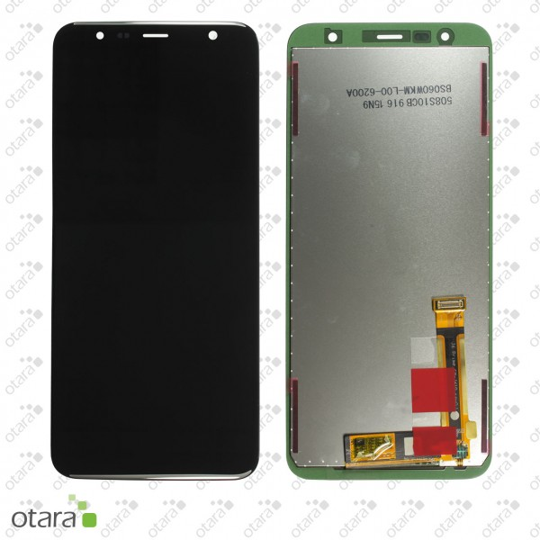 Displayeinheit Samsung Galaxy J4 Plus (J415F), J6 Plus (J610F) 2018, schwarz, Serviceware