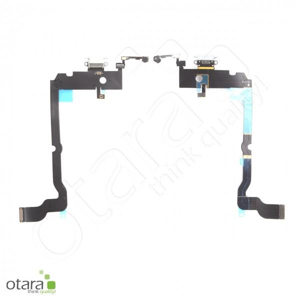 Lade Konnektor Flexkabel geeignet für iPhone XS Max (ori/pulled), weiß
