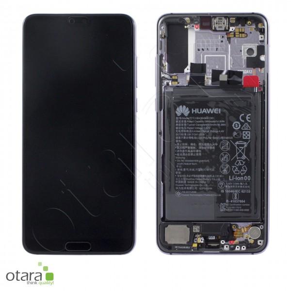 Displayeinheit Huawei P20 Pro, twilight, Serviceware