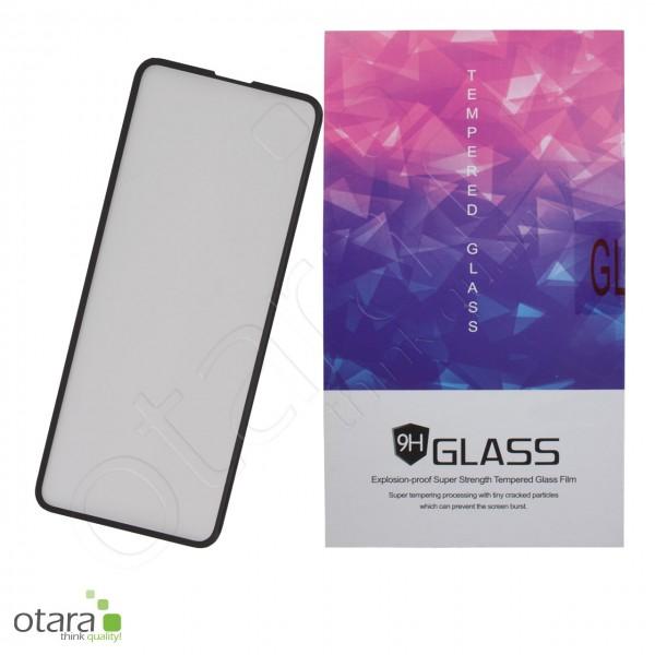 Schutzglas Edge to Edge für Samsung Galaxy S10e, schwarz