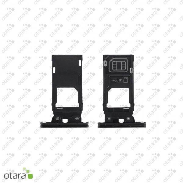 Sony Xperia XZ2 geeignete Simkarte SD Karte Abdeckung, liquid black
