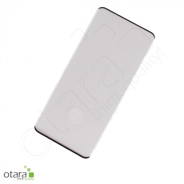 Schutzglas Edge to Edge Samsung Galaxy S20 Ultra, schwarz (ohne Verpackung)