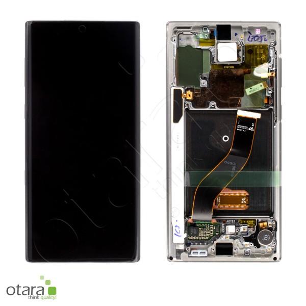 Displayeinheit Samsung Galaxy Note 10 (N970F), aura glow, Serviceware