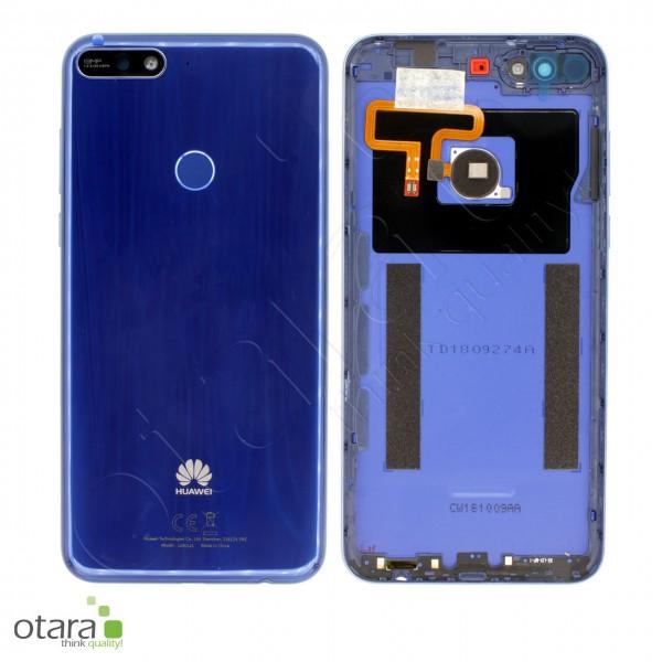 Akkudeckel Huawei Y7 2018, blau, Serviceware
