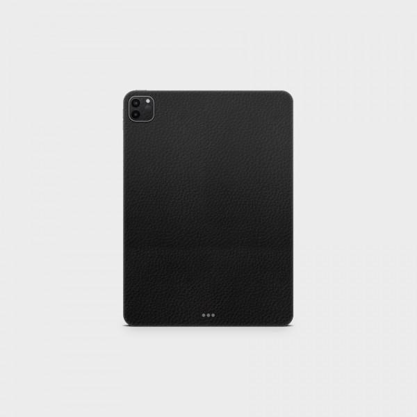"GREEN MNKY Backcover Skin Tablet 11"" (Struktur Serie) ""Lederoptik Black"" [3 Stück]"