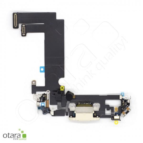Lade Konnektor Flexkabel geeignet für iPhone 12 Mini (Ori/pulled Qualität), weiß