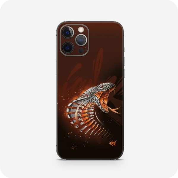 "GREEN MNKY Backcover Skin Smartphone 7"" (Jayn Kollektion) ""Cobra"" [3 Stück]"