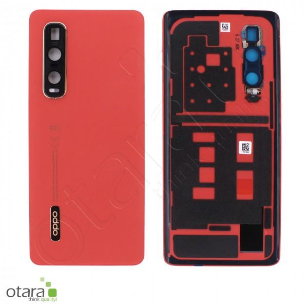 Akkudeckel OPPO FIND X2 Pro, orange, Serviceware