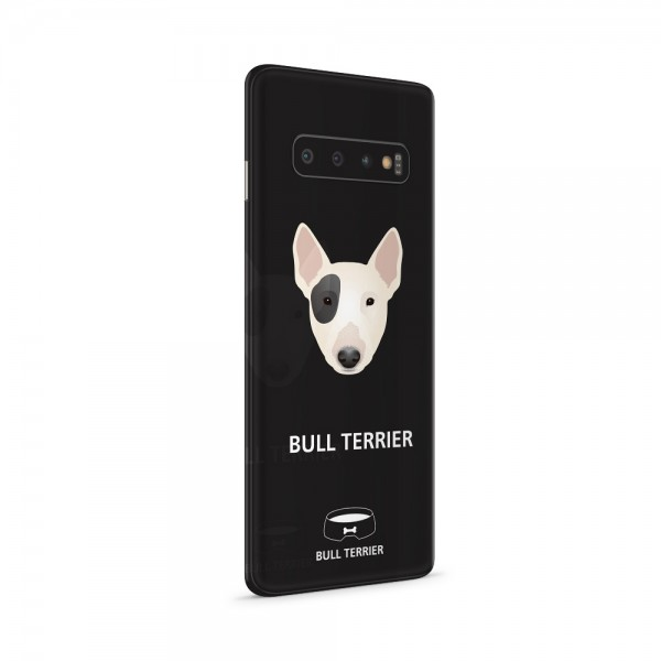 "GREEN MNKY Backcoverfolie Backfilm Design ""Bullterrier"" [3er Pack]"