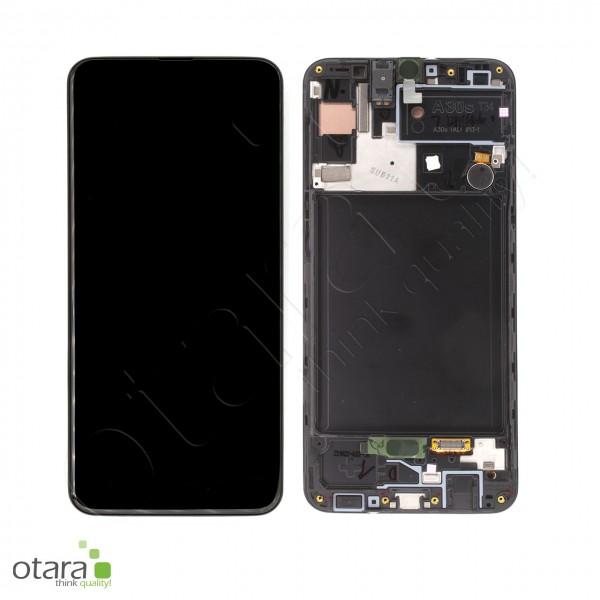 Displayeinheit Samsung Galaxy A30s (A307F), black, Serviceware