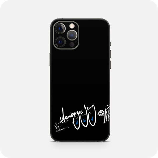 "GREEN MNKY Backcover Skin Smartphone 7"" (HSV Kollektion) ""HSV Hamburger Jung Goal Black "" [3 Stück]"
