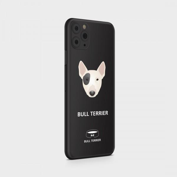 "GREEN MNKY Backcover Skin Smartphone 7"" (Design Serie) ""Bullterrier Backfilm"" [3 Stück]"