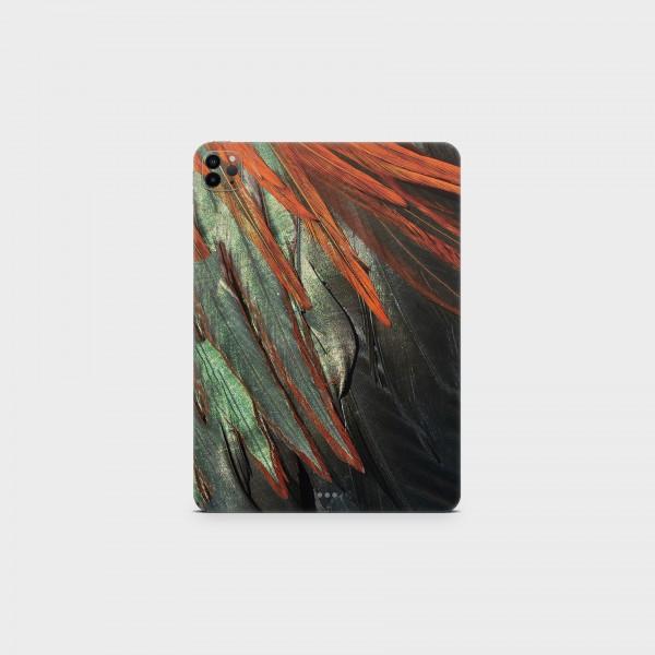 "GREEN MNKY Backcover Skin Tablet 11"" (Struktur Serie) ""Feather"" [3 Stück]"