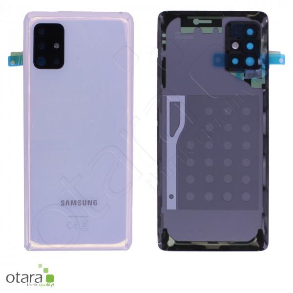 Akkudeckel Samsung Galaxy A51 5G (A516B), prism crush white , Serviceware