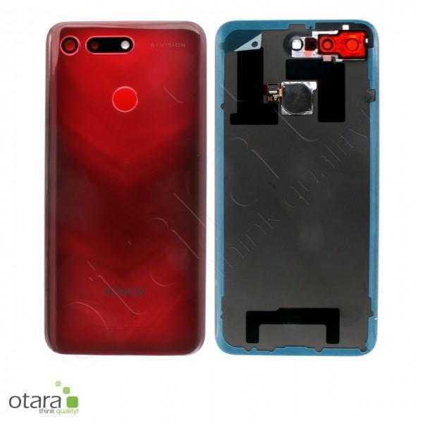 Akkudeckel Huawei Honor View 20, phantom red, Serviceware