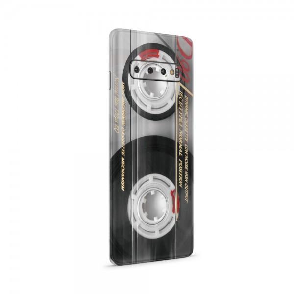 """GREEN MNKY Backcoverfolie Backfilm Design """"Vintage Cassette"""" [3er Pack]"""