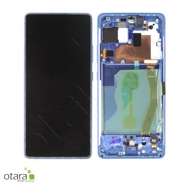 Displayeinheit Samsung Galaxy S10 Lite (G770F), Prism Blue, Serviceware