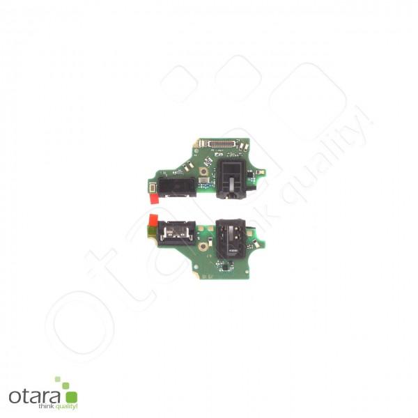 Huawei P20 Lite Lade Konnektor Platine mit USB-C + Audio Jack, Serviceware